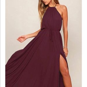 Lulus,Essence of style plum dress. Never worn.